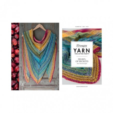 YARN THE AFTER PARTY NO. 06 SHAWL OF SECRETS Cover