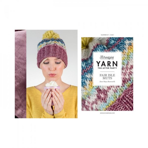 YARN THE AFTER PARTY NO. 07 FAIR ISLE HAT Cover