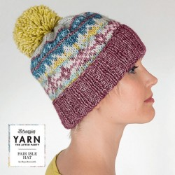 YARN THE AFTER PARTY NO. 07 FAIR ISLE HAT pic 1