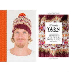 YARN THE AFTER PARTY NO. 36 AUTUMN BOBBLE HAT Cover