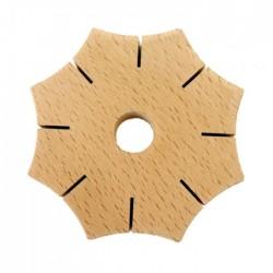 Wooden Braiding Star