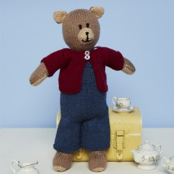 Bruno the Bear Pattern 9670