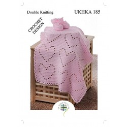 UKHKA 185- Crochet Baby...