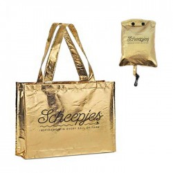 Scheepjes Foldable bag Gold