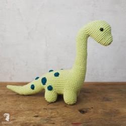 Dino Brontosaurus Amigurumi...
