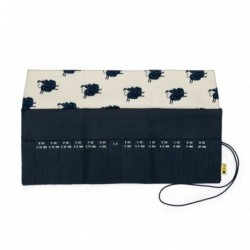 Crochet Roll - Sheep/Navy...
