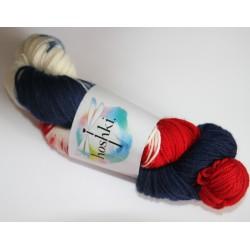 Hoshki Hand Dyed Yarn- Red,...
