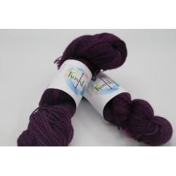 Zebra- Purple Hand Dyed...